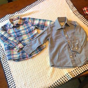 Bundle of 2T button down shirts